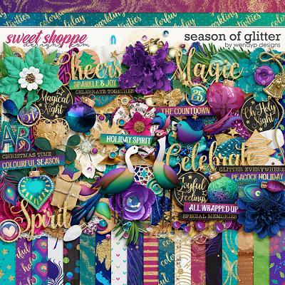 Season of glitter by WendyP Designs
