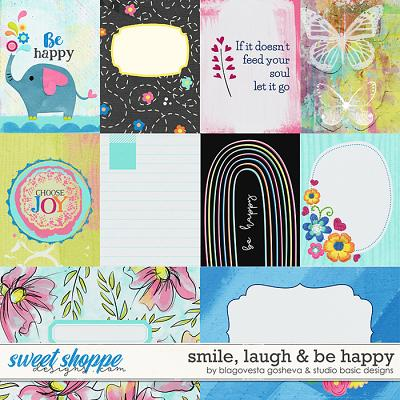 Smile, Laugh & Be Happy Cards by Blagovesta Gosheva and Studio Basic