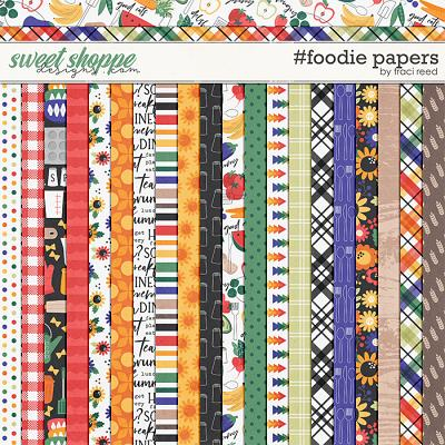 #foodie Papers by Traci Reed