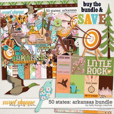 50 States: Arkansas Bundle by Kelly Bangs Creative