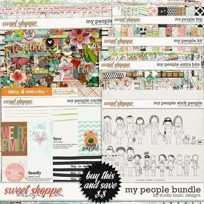My People Bundle by Studio Basic