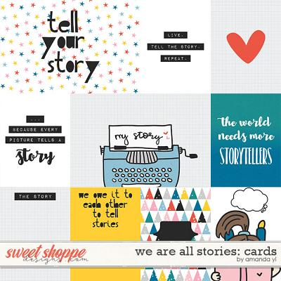 We Are All Stories: Pocket Cards by Amanda Yi