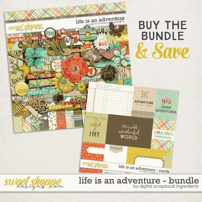 Life Is An Adventure Bundle by Digital Scrapbook Ingredients