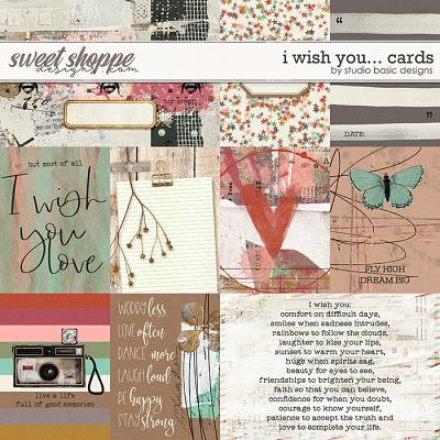 I Wish You... Cards by Studio Basic