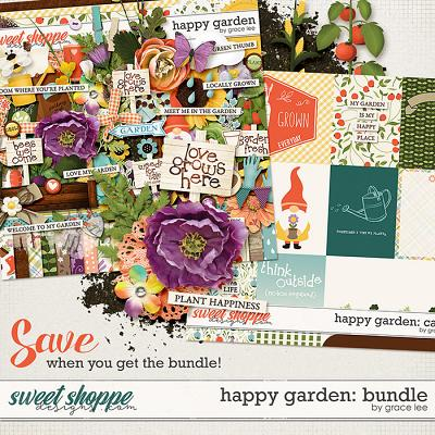 Happy Garden: Bundle by Grace Lee