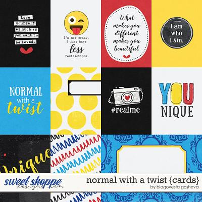 Normal with a twist {cards} by Blagovesta Gosheva