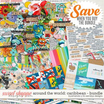 Around the world: Caribbean - bundle by Amanda Yi & WendyP Designs