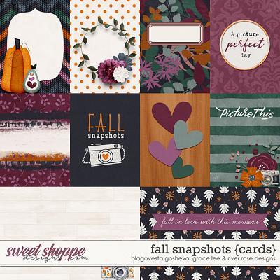 Fall Snapshots: Cards by Blagovesta Gosheva, Grace Lee & River Rose Designs