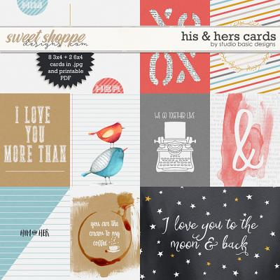 His & Hers Cards by Studio Basic