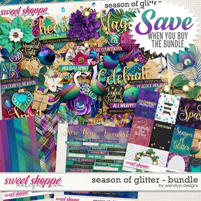 Season of glitter - Bundle by WendyP Designs