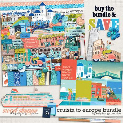 Cruisin to Europe Bundle by Kelly Bangs Creative