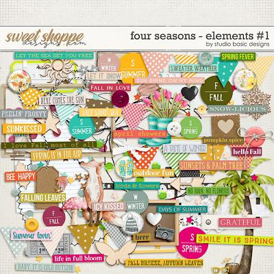 Four Seasons Elements #1 by Studio Basic