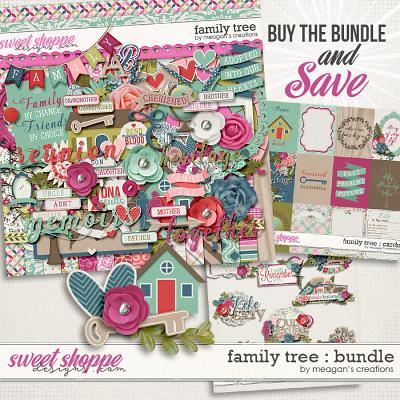 Family Tree : Bundle by Meagan's Creations