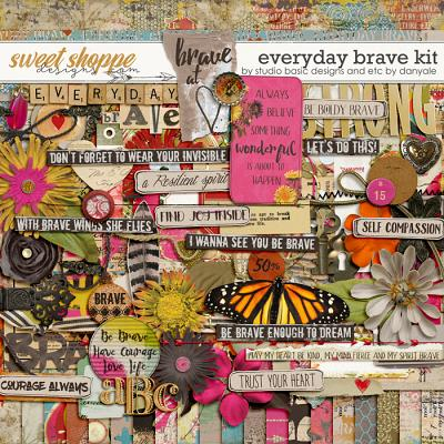 Everyday Brave Kit by Studio Basic and Etc. by Danyale