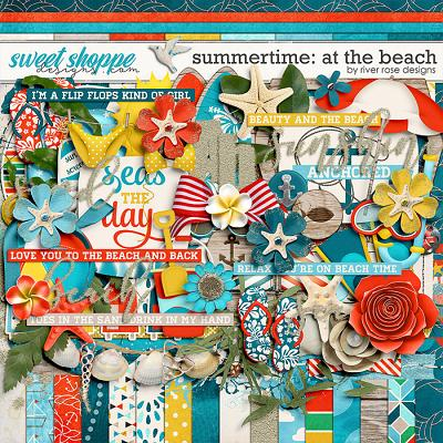 Summertime: At the Beach Kit by River Rose Designs