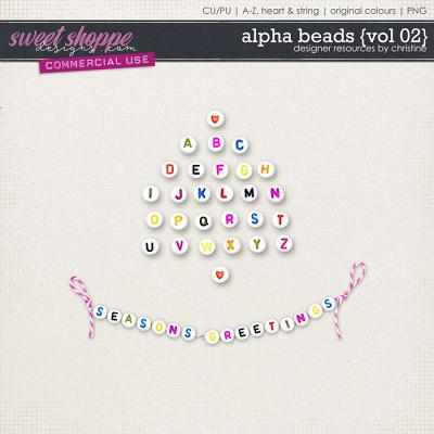 Alpha Beads {Vol 02} by Christine Mortimer