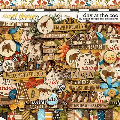 Day At The Zoo by Digital Scrapbook Ingredients