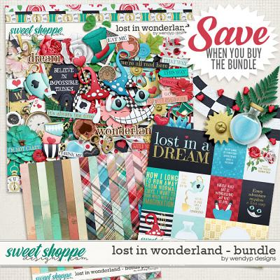 Lost in wonderland - bundle by WendyP Designs