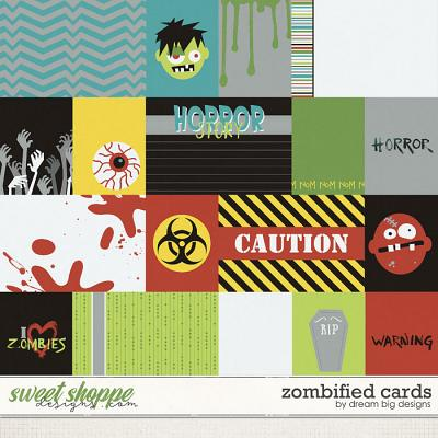 Zombified Cards by Dream Big Designs