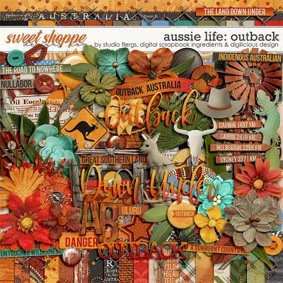 Aussie Life: Outback- KIT by Digilicious, DSI & Flergs