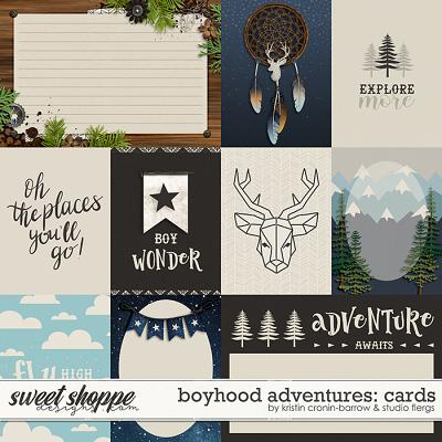 Boyhood Adventures: CARDS by Flergs & KCB