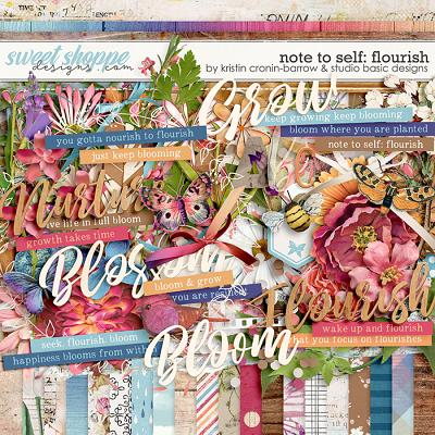 Note To Self: Flourish Kit by Kristin Cronin-Barrow & Studio Basic