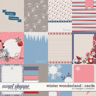 Winter Wonderland : Cards by Meagan's Creations