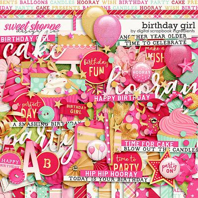 Birthday Girl by Digital Scrapbook Ingredients