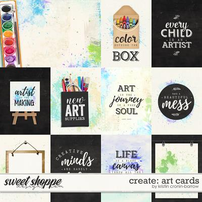 Create: Art Cards by Kristin Cronin-Barrow