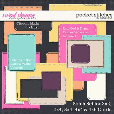 Pocket Stitches by Erica Zane