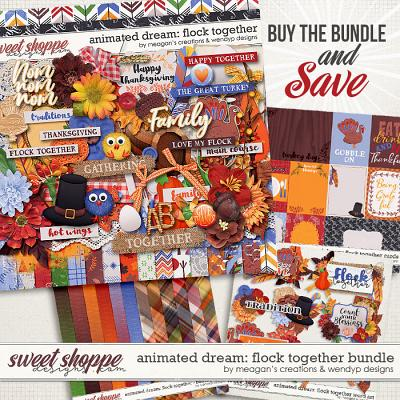 Animated Dream: Flock together - bundle by Meagan's Creaions & WendyP Designs
