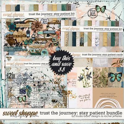 Trust The Journey: Stay Patient Bundle by Studio Basic and Rachel Jefferies