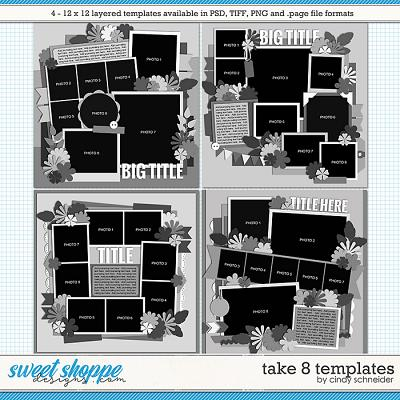 Cindy's Layered Templates - Take Eight by Cindy Schneider