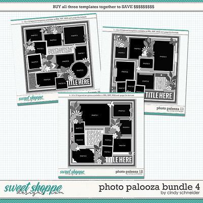 Cindy's Layered Templates - Photo Palooza Bundle 4 by Cindy Schneider