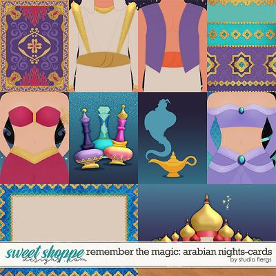 Remember the Magic: ARABIAN NIGHTS- CARDS by Studio Flergs