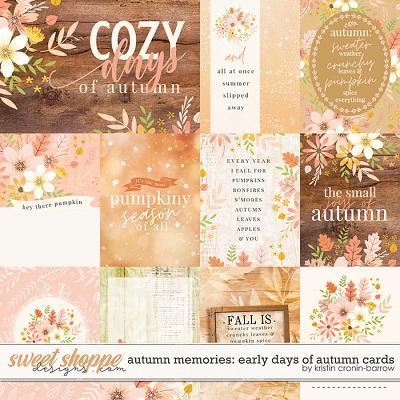 Autumn Memories: Early Days of Autumn by Kristin Cronin-Barrow