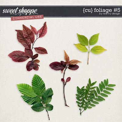 CU Foliage #5 by Red Ivy Design