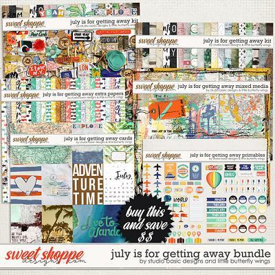 July Is For Getting Away Bundle by Studio Basic & Little Butterfly Wings