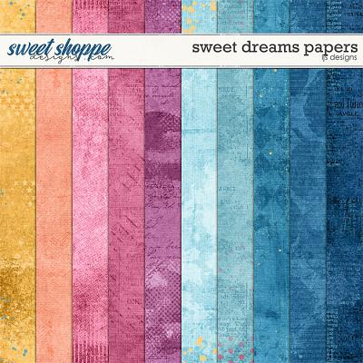 Sweet Dreams Papers by LJS Designs