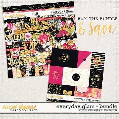 Everyday Glam Bundle by Digital Scrapbook Ingredients