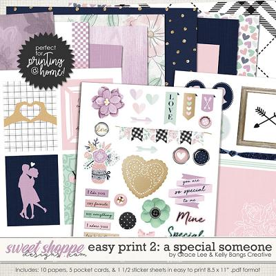 Easy Print: A Special Someone 2 by Grace Lee and Kelly Bangs Creative