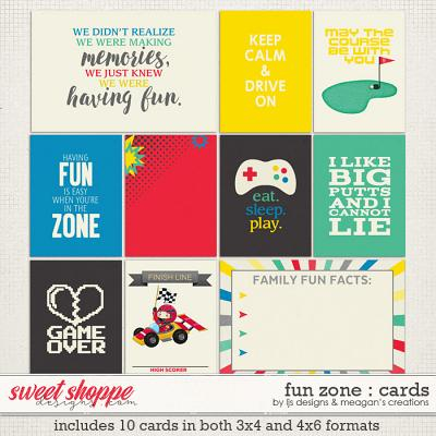 Fun Zone : Cards by LJS Designs & Meagan's Creations