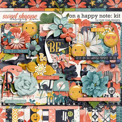 On a Happy Note: Kit by River Rose Designs