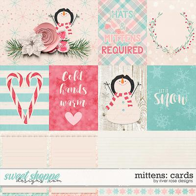 Mittens: Cards by River Rose Designs