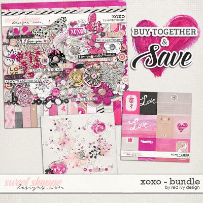 XOXO - Bundle - by Red Ivy Design