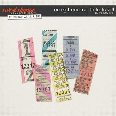 CU EPHEMERA | TICKETS V.4 by The Nifty Pixel