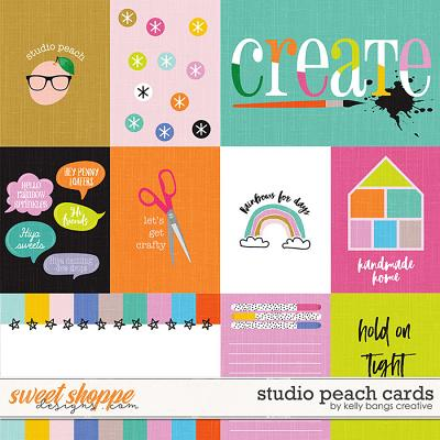 Studio Peach Cards by Kelly Bangs Creative