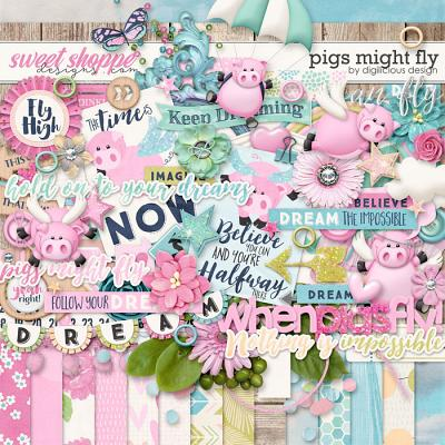 Pigs Might Fly {Kit} by Digilicious Design