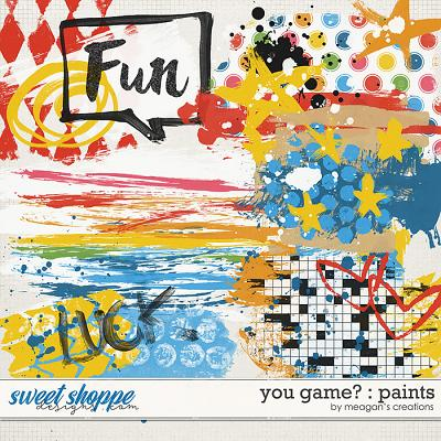 You Game? : Paints by Meagan's Creations