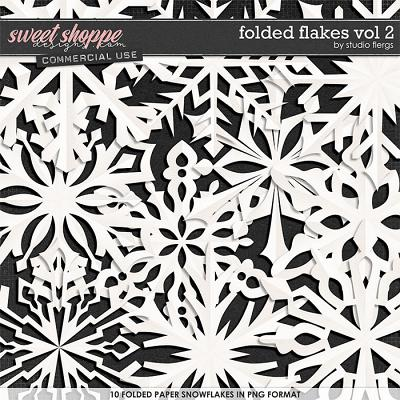 Folded Flakes VOL 2 by Studio Flergs